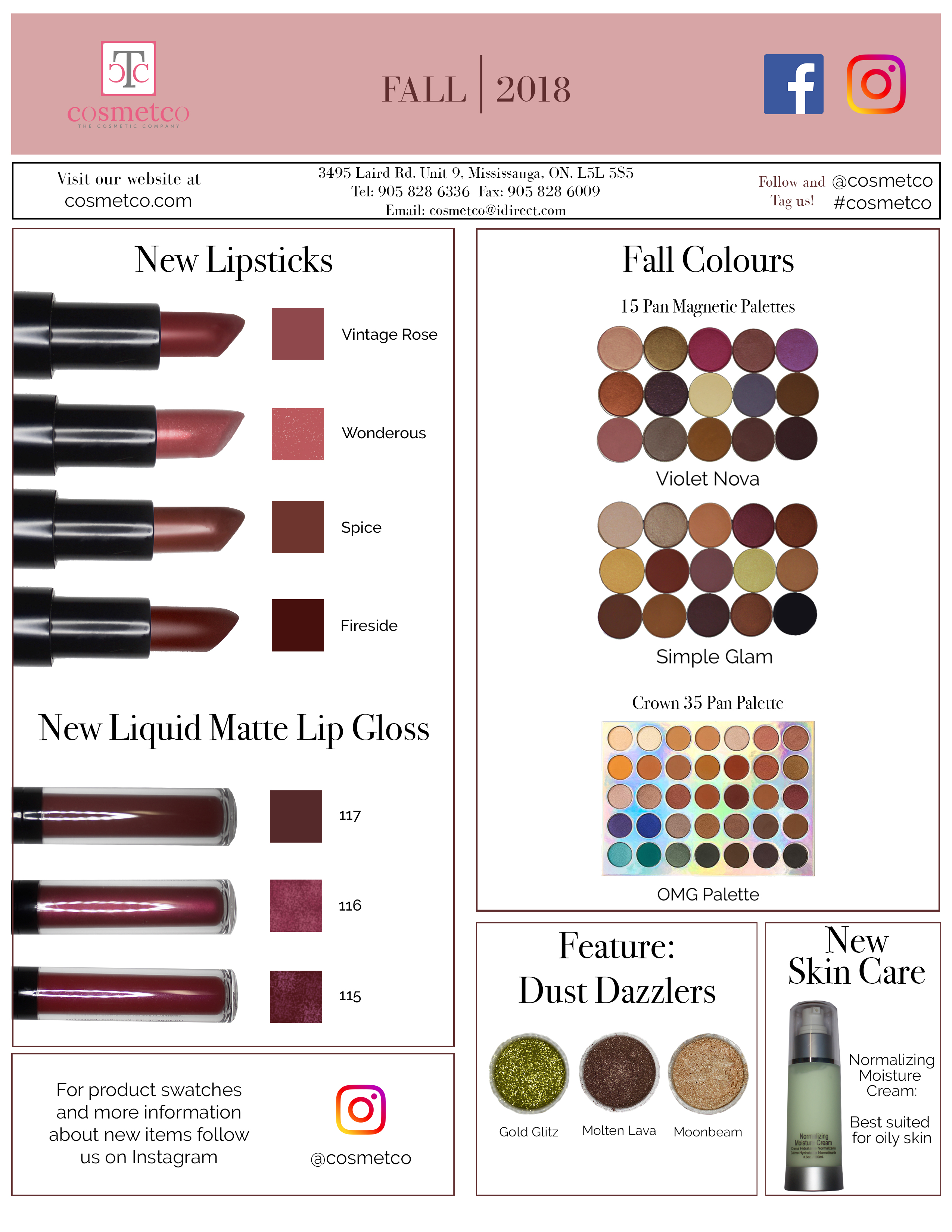 Cosmetco | The Cosmetic Company